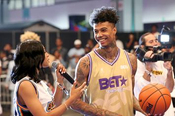 Blueface Roasts Himself For Having Ridiculously Long Feet