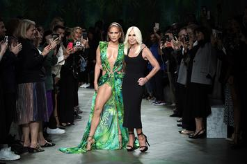 Jennifer Lopez Reveals She Is Face Of New Versace Campaign In Remake Of Iconic Dress