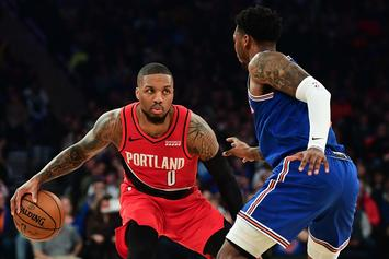 Damian Lillard Campaigns For NBA All-Star 1-On-1 Tournament