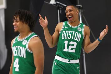 Celtics' Rookie Vows To Die His Hair Pink If Teammates Make All-Star Team