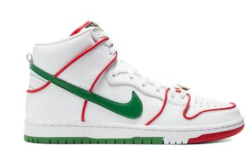 """Paul Rodriguez x Nike SB Dunk High """"Mexico"""" Available Now: Resale Price Report"""