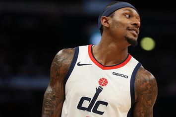 Bradley Beal Breaks Andre Drummond's Ankles, Sends Wizards Bench Into A Frenzy