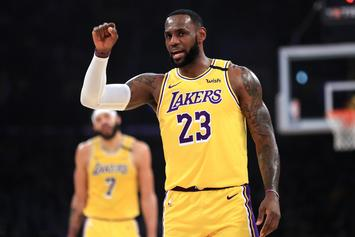 LeBron James Claps Back At Those Who Think Lakers Are Pretenders