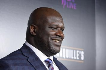 Shaq Gifts Fan With Laptop After He Offers Condolences For Loss Of Kobe Bryant & Sister