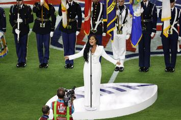 Twitter Reacts  To Demi Lovato's National Anthem At Super Bowl