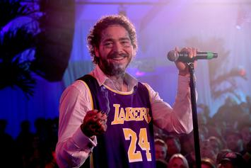 Post Malone Made It Rain $50,000 In The Club During Super Bowl Weekend