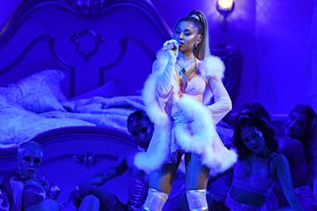 Ariana Grande & Mikey Foster Caught Boo'd Up At Disneyland