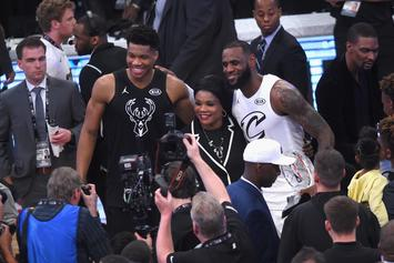LeBron James & Giannis Draft Their All-Star Teams: Full Results