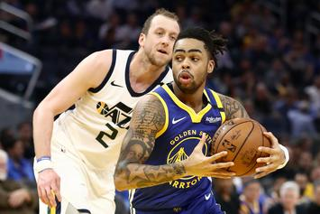Warriors Reportedly Couldn't Wait To Get Rid Of D'Angelo Russell