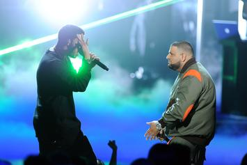 """DJ Khaled Reminds Us Of Drake's Success With """"Views"""" While In Toronto"""