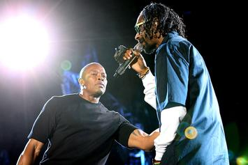 Snoop Dogg & Dr. Dre Shine In Nostalgic Throwback Pic