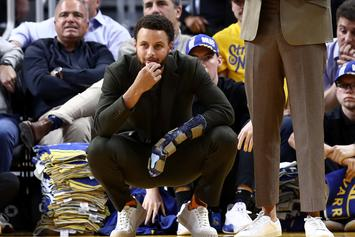 Steph Curry's Return To Warriors' Line-Up Delayed