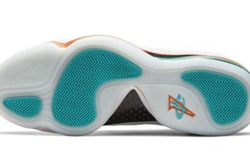 "Nike Air Penny 5 ""Alternate Dolphins"" Coming Soon: Photos"