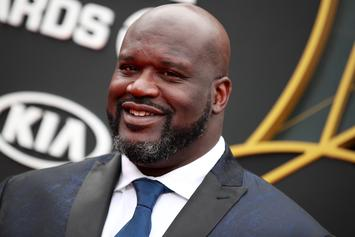 Shaq Displays Dad-Like Dance Moves Alongside His Sons