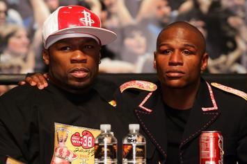 """50 Cent Savagely Reacts To Floyd Mayweather's """"Smart Investments"""""""