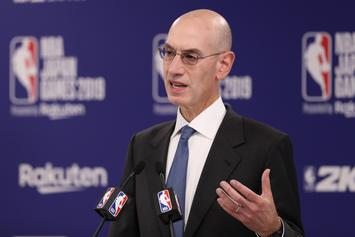 Adam Silver Explains NBA's Timeline For Decision On This Season
