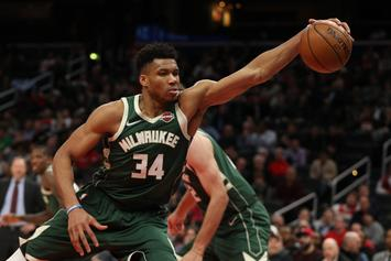 Giannis Antetokounmpo Couldn't Help But Diss His Brothers