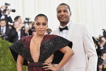 LaLa & Carmelo Anthony Are Quarantining Together