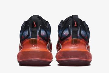 """Nike Air Max 720 Receives Infamous """"Galaxy"""" Aesthetic: Photos"""