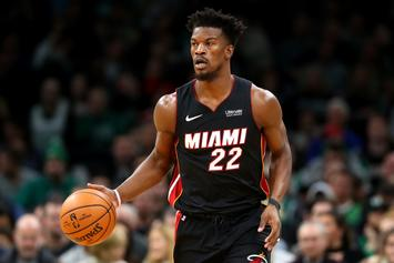 Jimmy Butler Sends Basketball Hoops To Heat Teammates