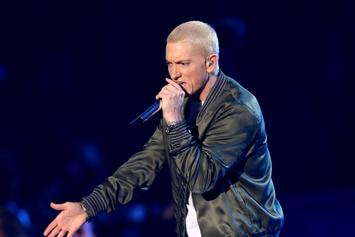 """Eminem Announces """"Music To Be Quarantined By"""" Playlist"""