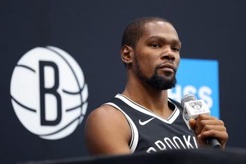 """Kevin Durant Claps Back At """"Sensitive"""" Fans On Twitter"""