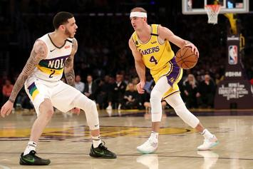 Alex Caruso Jokes About How Cheap LeBron James Is