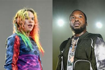 Tekashi 6ix9ine & Meek Mill Exchange Words After Eminem's Record Is Broken