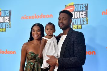 Dwyane Wade & Gabrielle Union's Daughter Hilariously Fails Viral Snack Challenge