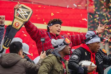Patrick Mahomes Encourages Texas Tech Students During Commencement Speech