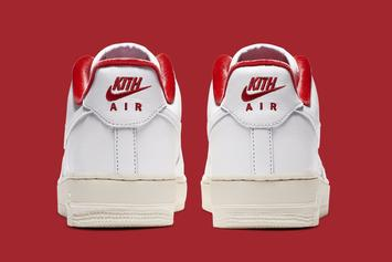 Kith x Nike Air Force 1 Low Collab Officially Unveiled: Photos