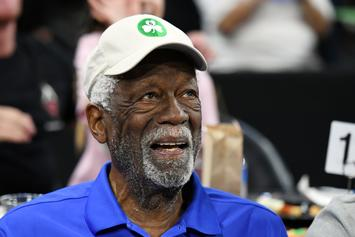 Bill Russell Takes Aim At Trump Over Divisive Stance On Kneeling