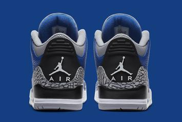 "Air Jordan 3 ""Varsity Royal"" Officially Revealed: Release Info"
