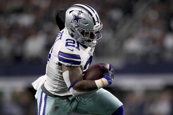 Ezekiel Elliott & Other Cowboys Players Test Positive For COVID-19
