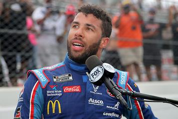 """NASCAR's Bubba Wallace: FBI Says """"No Crime"""" After Noose Found In His Garage"""