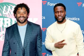 Kevin Hart Interviews Russell Wilson About Football, Ciara & More