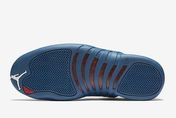 """Air Jordan 12 """"Stone Blue"""" Release Date Revealed: Official Images"""