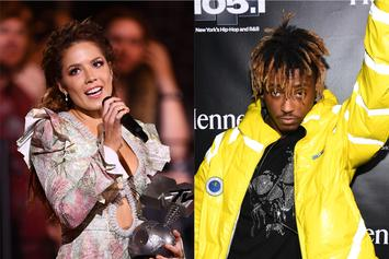 Halsey Debuts New Tattoo In Honour Of Juice WRLD