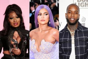 Megan Thee Stallion's Poolside Hang-Out With Kylie Jenner & Tory Lanez Befuddles Fans