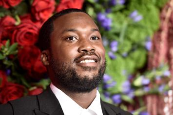 """Meek Mill Echoes Young Thug By Defending James Harden's """"Blue Lives Matter"""" Mask"""