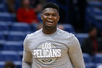 """Zion Williamson Reportedly """"Pissed"""" Over Minutes Restriction"""