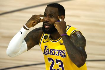 LeBron James To Miss Lakers Game With Lingering Injury