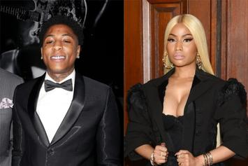 NBA Youngboy Looks Ecstatic Working With Nicki Minaj: See Video Preview