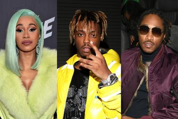 "Cardi B, Juice WRLD, Future & Lil Uzi Vert Run This Week's ""Fire Emoji"" Playlist"
