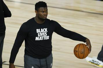 "Zion Williamson Claps Back At Critics Calling Him ""Overweight"""