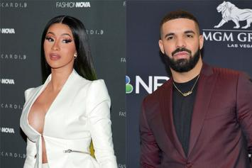 "Cardi B & Megan Thee Stallion's ""WAP"" Likely To Stave Off Drake For #1 Spot"
