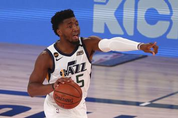 Donovan Mitchell Posts Hilarious Video Of Mike Conley Stuck In Quarantine