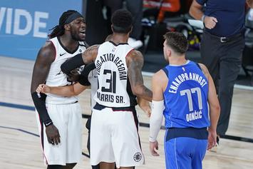 """Montrezl Harrell Apologizes To Luka Doncic For """"White Boy"""" Comment"""