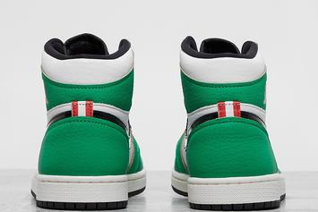 "Air Jordan 1 High OG ""Lucky Green"" Revealed: Photos"