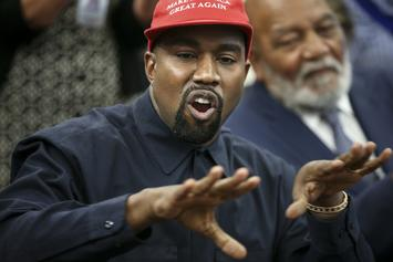 Political Group Tied To Kanye West's Campaign Sends Misinformation On Biden To Voters